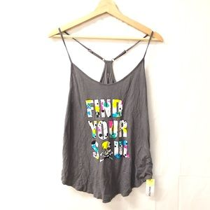 SOULCYCLE Small find your soul tank top NEW